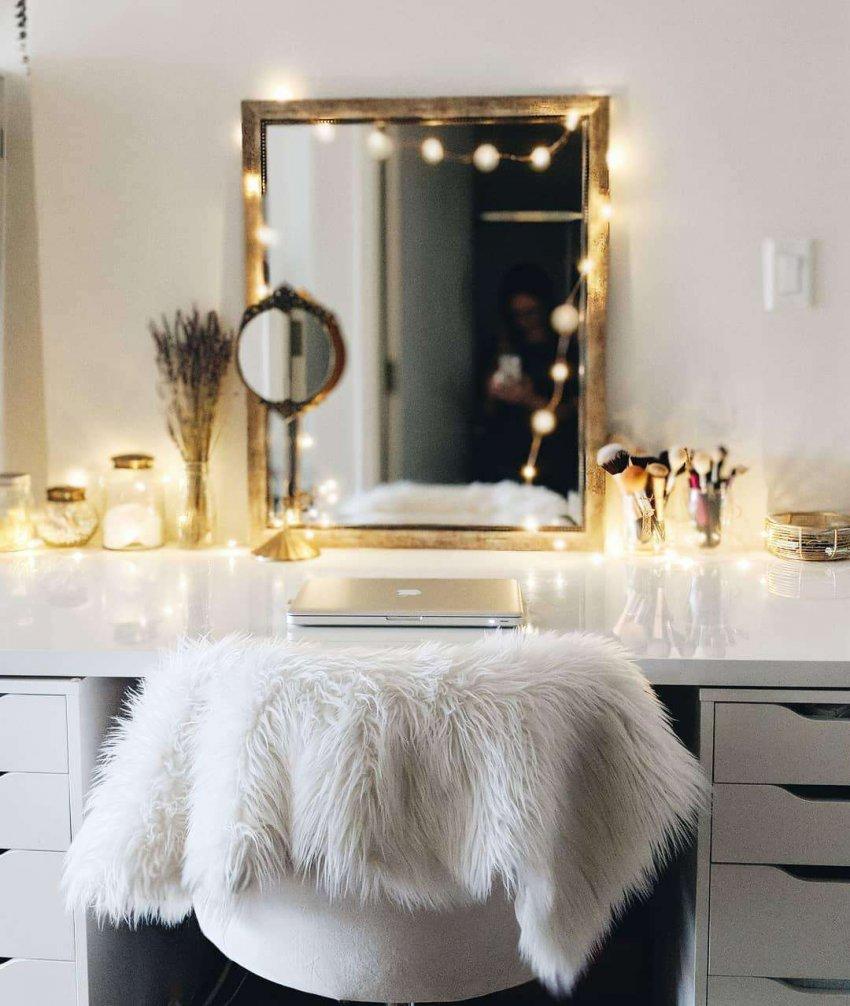 Рейтинг лучших туалетных столиков с зеркалом
