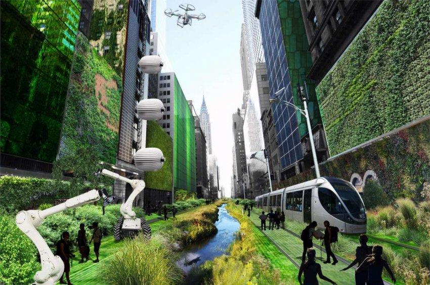 Города будущего: новые вызовы означают, что нам нужно переосмыслить облик городских ландшафтов