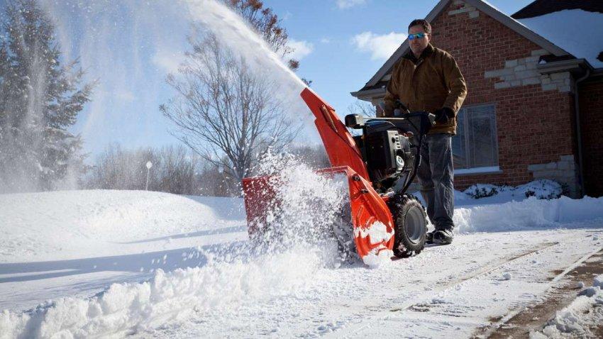 Топ 10 бензиновых снегоуборщиков