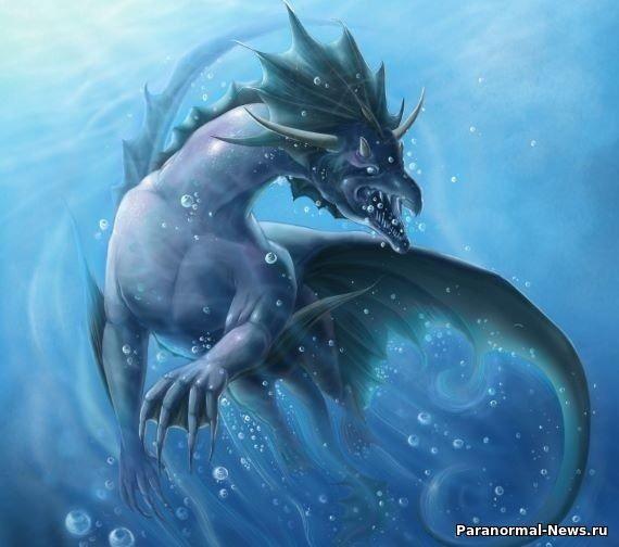 Загадочный «водяной дракон» из озера Челан - Паранормальные новости