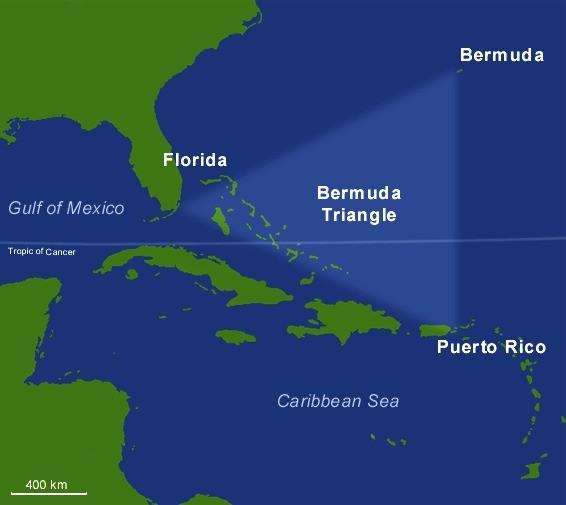 В конце декабря 2020 года в Бермудском треугольнике пропал корабль с 20 людьми на борту - Паранормальные новости