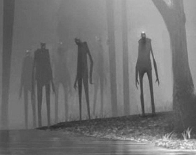 Житель Коннектикута рассказал о встрече в лесу с сине-серым гуманоидом - Паранормальные новости