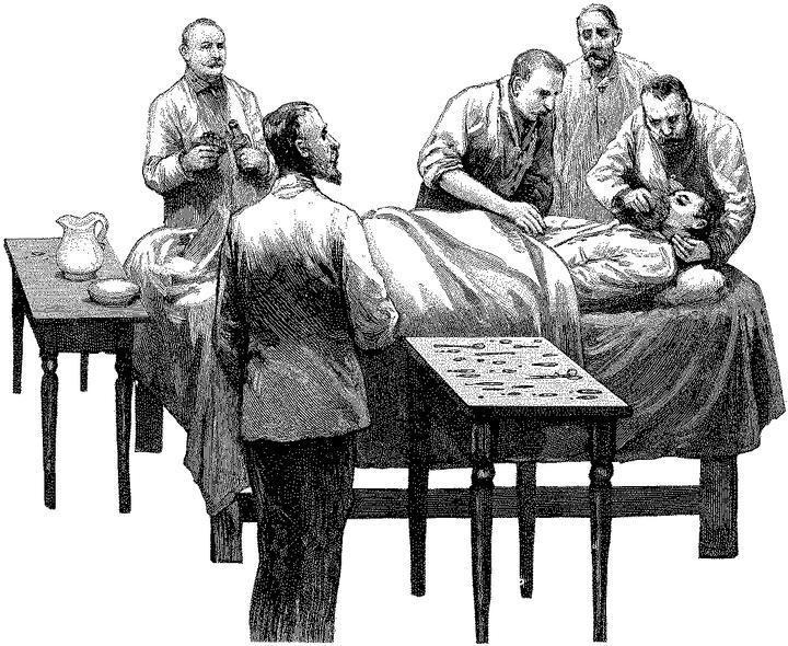 История анестезии от древности и до наших дней