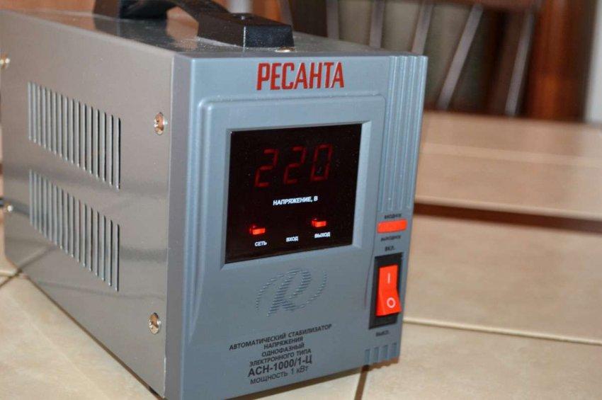 Обзор однофазных релейных стабилизаторов электрического напряжения