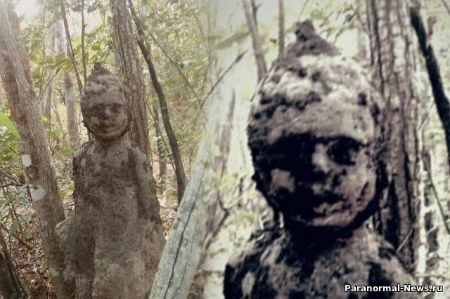 В Таиланде обнаружили лесной термитник, построенный в форме человеческого ребенка - Паранормальные новости