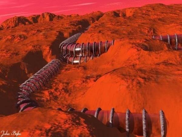Странные «трубы» Марса: Естественная аномалия или что-то иное? - Паранормальные новости