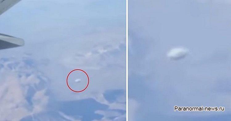 Скоростной диск-НЛО засняли с борта самолета, вылетевшего из Чикаго (+ видео) - Паранормальные новости