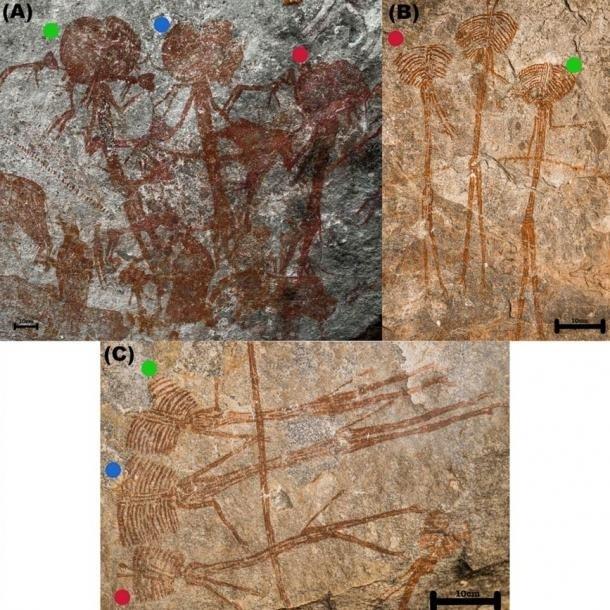 Изображения загадочных большеголовых гуманоидов найдены на скале в Танзании - Паранормальные новости