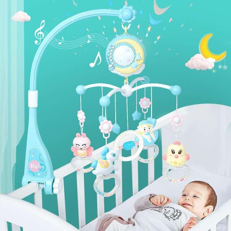 ТОП-10 популярных мобилей для детских кроваток
