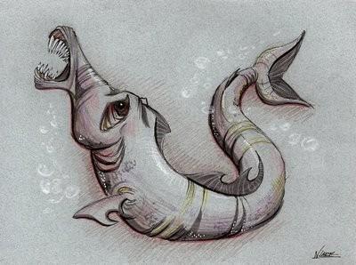Мамламбо - неопознанный речной монстр, поедающий лица и мозги утопленников - Паранормальные новости