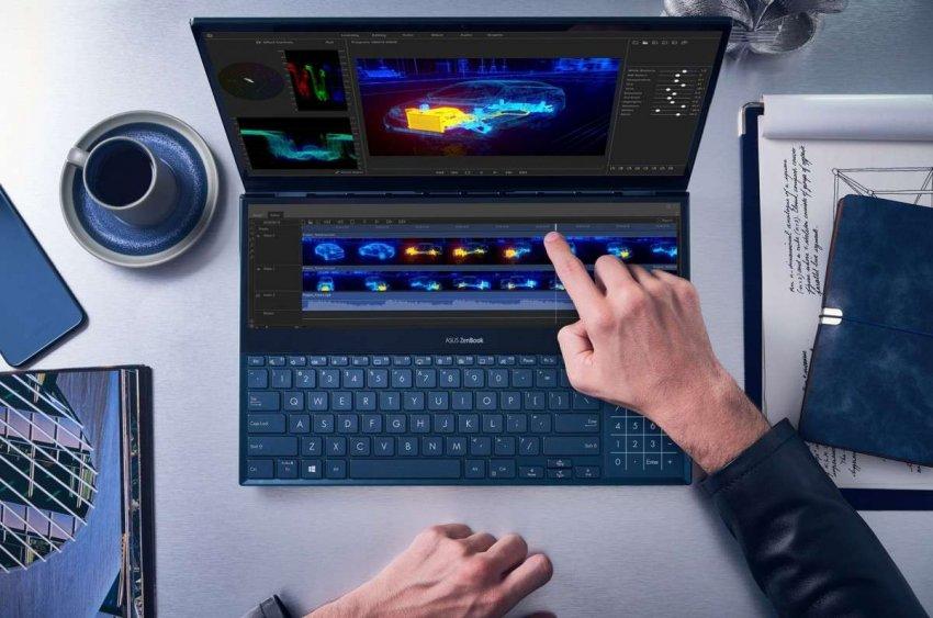 ТОП 5 лучших ноутбуков с двумя экранами