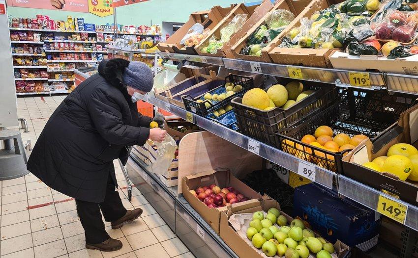 Впервые за полтора года: инфляция в России превысила 5%