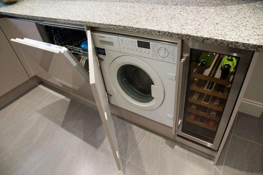 Встраиваемые стиральные машины с сушкой. Топ лучших предложений