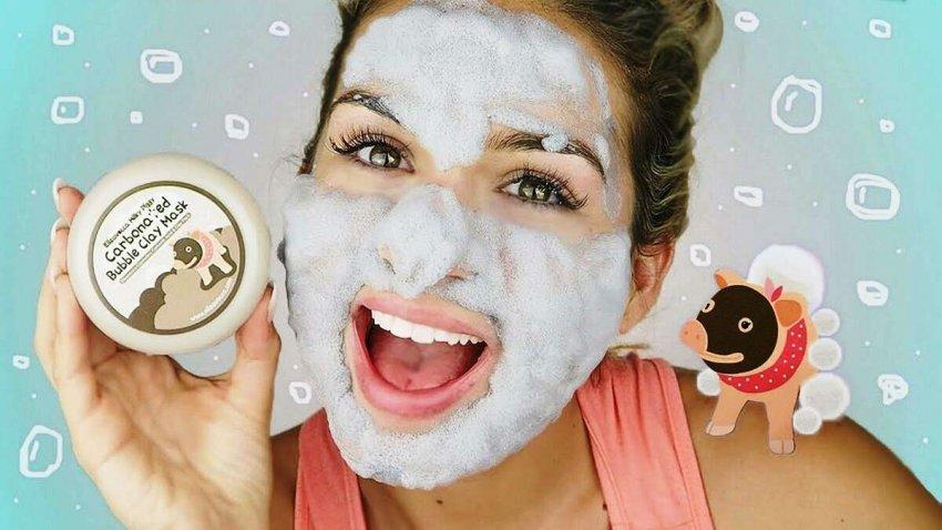 ТОП-10 эффективных пузырьковых масок для лица