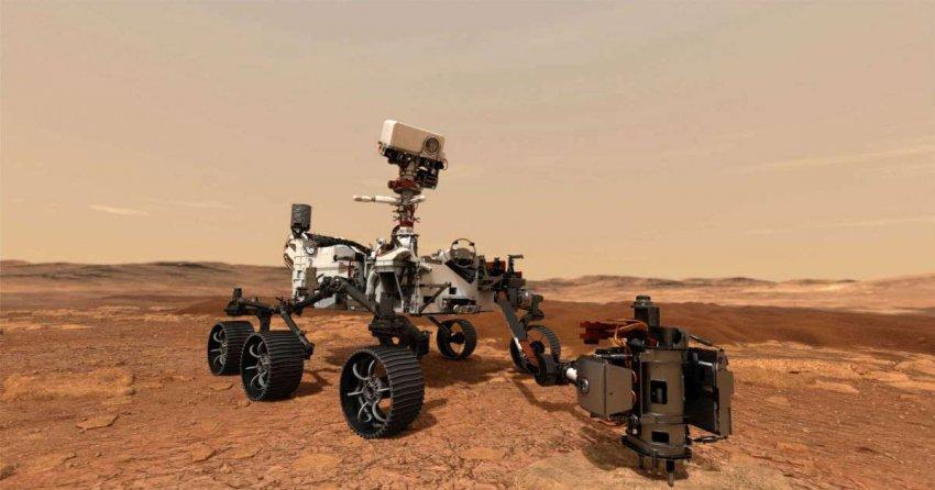 Марсоход Perseverance: как доказать, есть ли жизнь на Красной планете