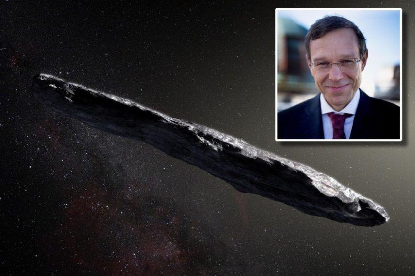 Гарвардский астроном Ави Лоэб уверен что нас посетил инопланетный объект
