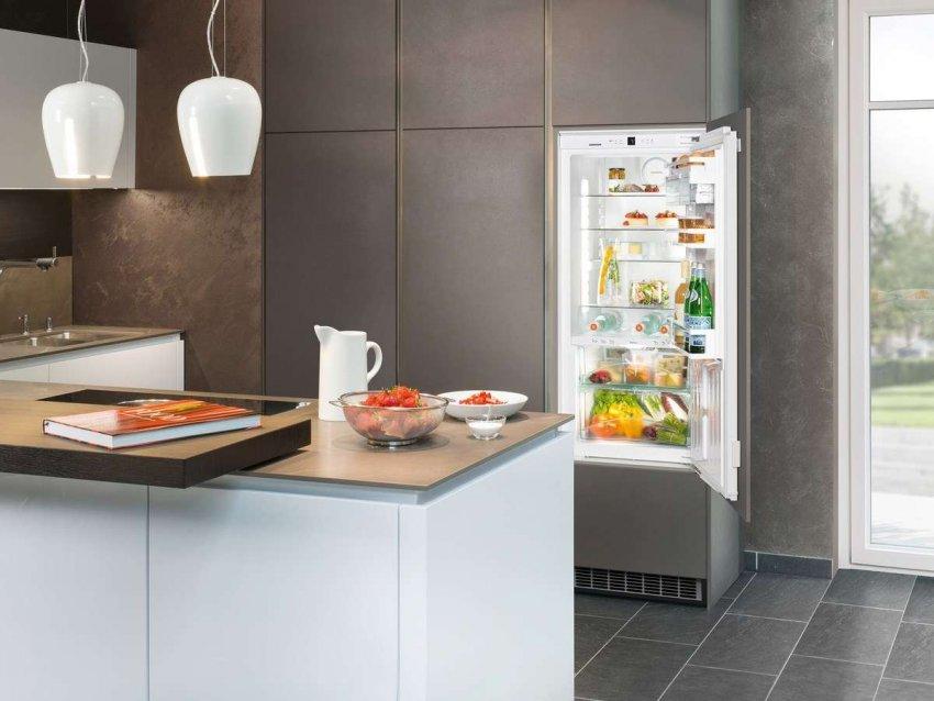 Встраиваемые холодильники. Топ лучших предложений
