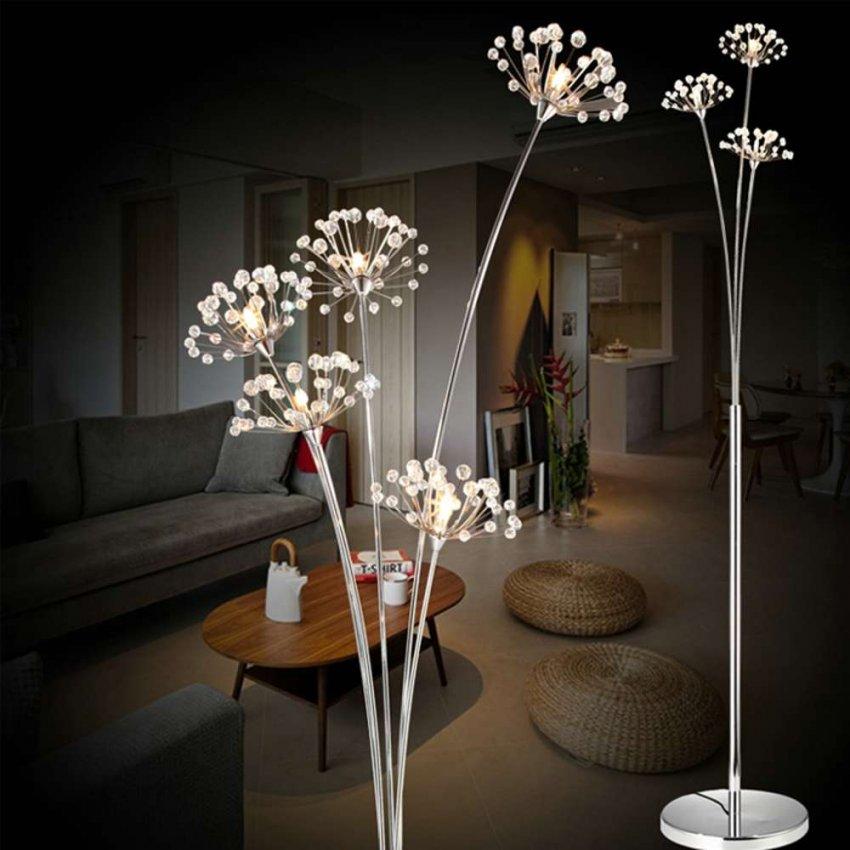 ТОП-10 красивых напольных светильников