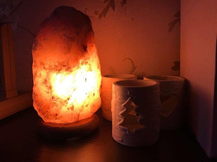 Обзор популярных солевых ламп для дома. ТОП-10 лучших предложений