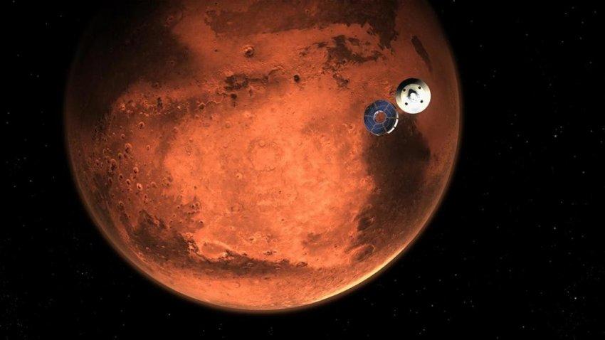 Ученые NASA опубликовали первые снимки Марса с огромным разрешением