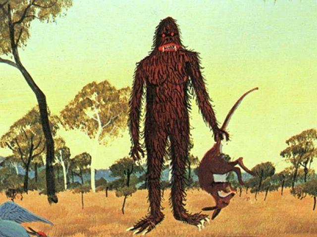 В Австралии странное волосатое существо запрыгнуло на крышу дома - Паранормальные новости
