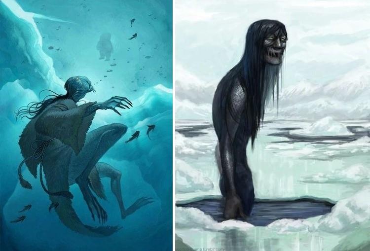 Монстр, утаскивающий под воду детей инуитов - Паранормальные новости