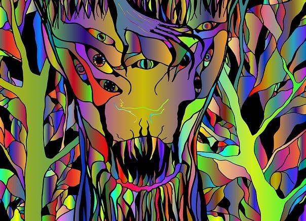 Почему при потреблении психоделиков многие люди видят странных существ? - Паранормальные новости