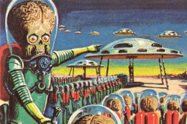 Французский зоолог Жан Перье первым описал, как выглядят марсиане - Паранормальные новости