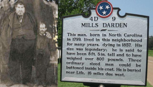 Очень высокий и чрезвычайно толстый - странная история Миллса Дардена - Паранормальные новости