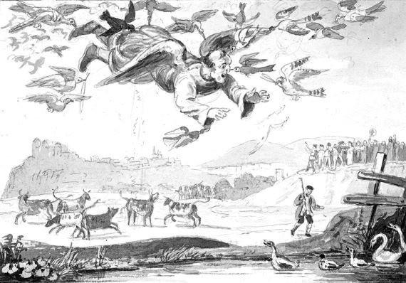 История о средневековом алхимике, который, якобы, умел летать - Паранормальные новости