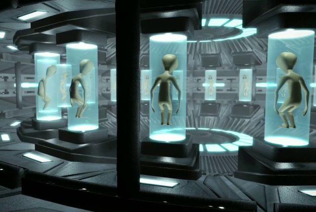 Байка о том, что в подземельях Капитолия США стоят капсулы с останками пришельцев - Паранормальные новости