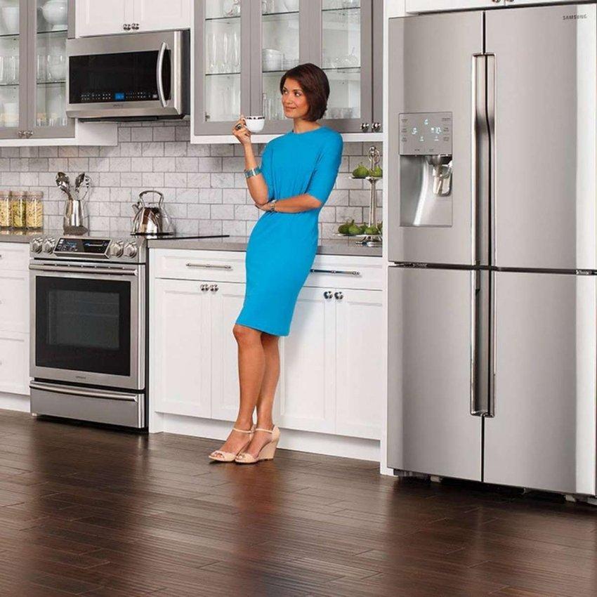 Холодильники Samsung с внешним сенсорным управлением. Топ лучших предложений