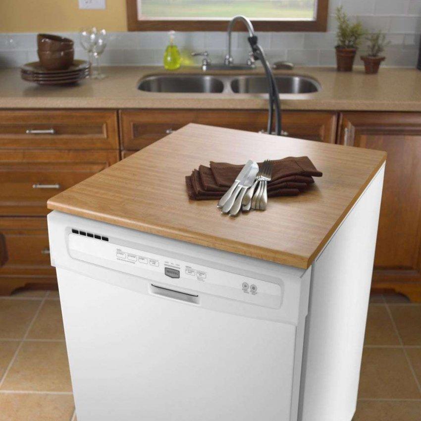 Обзор 5 лучших частично встраиваемых посудомоечных машин