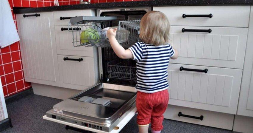 ТОП 10 посудомоечных машин с защитой от детей