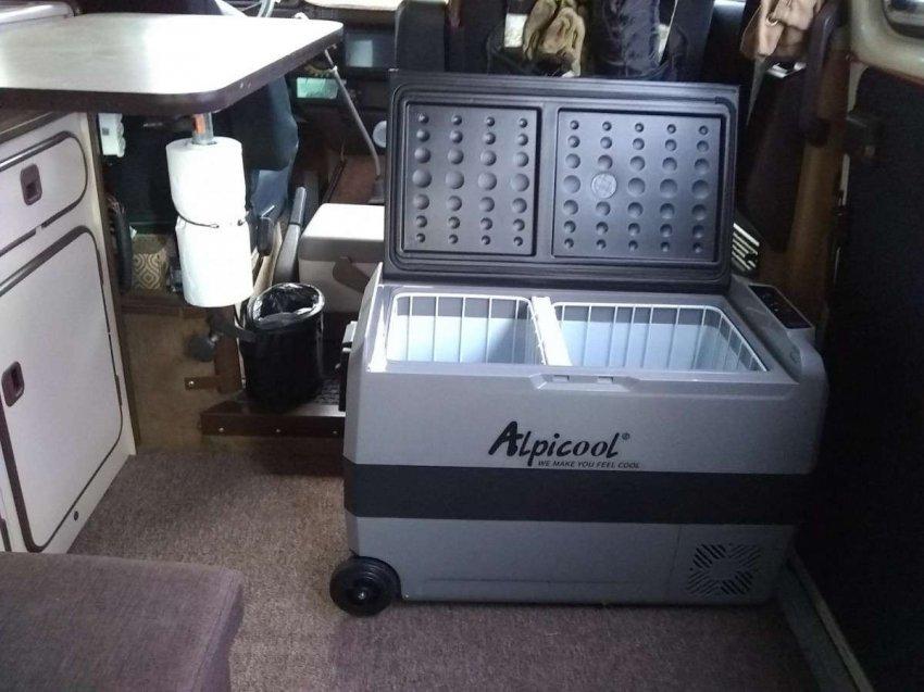 Автомобильные холодильники с колесами для транспортировки. Топ лучших предложений