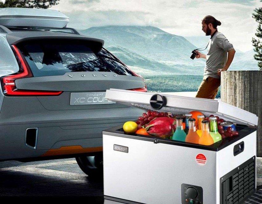Автомобильные холодильники с ручками для переноски. Топ лучших предложений