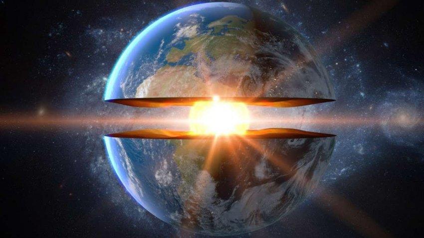Земля медленно остывает. Но одна сторона планеты теряет тепло намного быстрее
