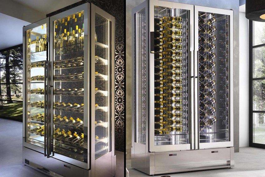 Холодильные шкафы для вина. Топ лучших предложений