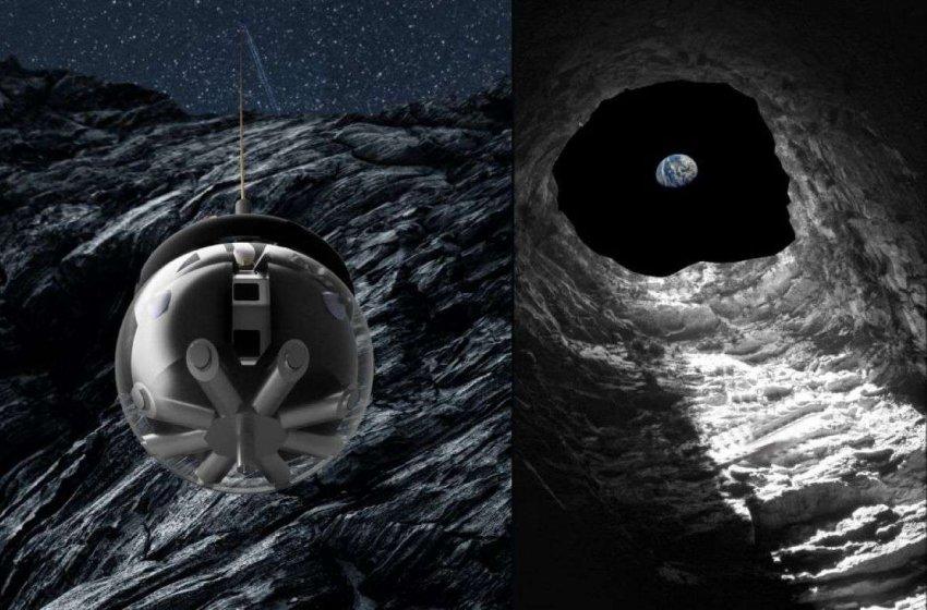 Европейские эксперты работают над созданием робота-спелеолога, который исследует пещеры на Луне
