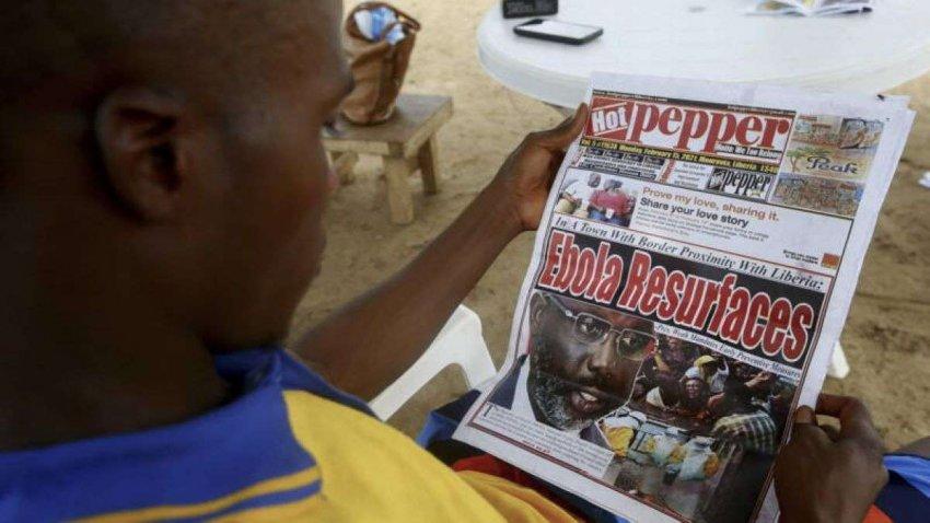 Эбола может быть хронической инфекцией