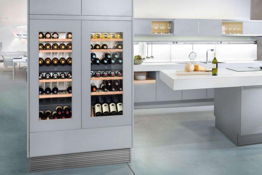ТОП 10 лучших двухтемпературных винных шкафов