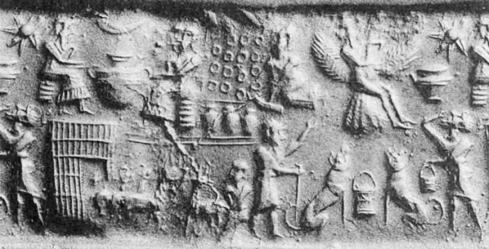 Шумерская история о царе Этане, который путешествовал на небеса к Богам - Паранормальные новости