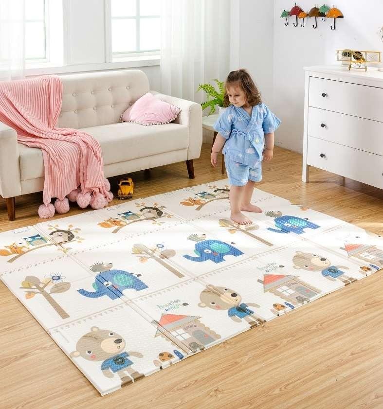 Рейтинг лучших детских ковриков