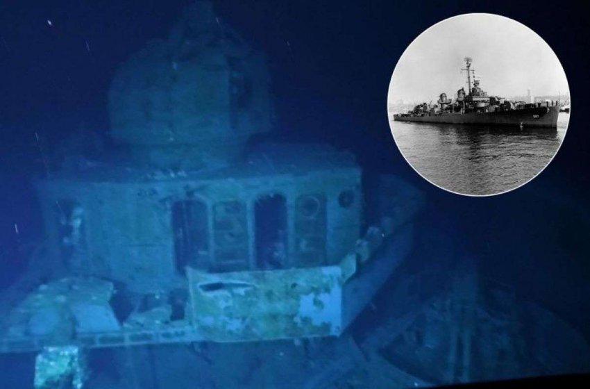 Исследователи обследовали самый глубоко затопленный корабль в мире