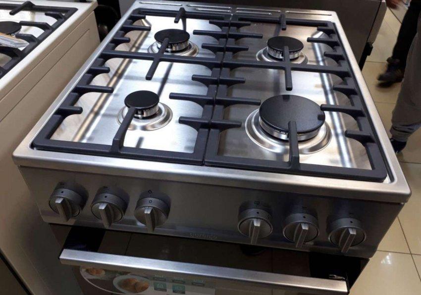 Газовые кухонные плиты с рабочей поверхностью из нержавеющей стали. Топ лучших предложений