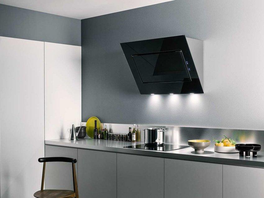 Кухонные вытяжки наклонной формы. Топ лучших предложений