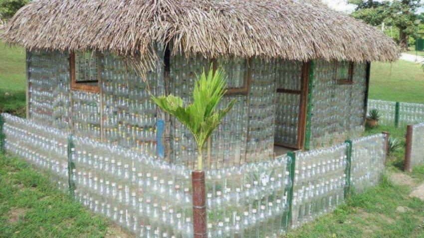 Можно ли из пластиковых отходов делать кирпичи для новых домов?