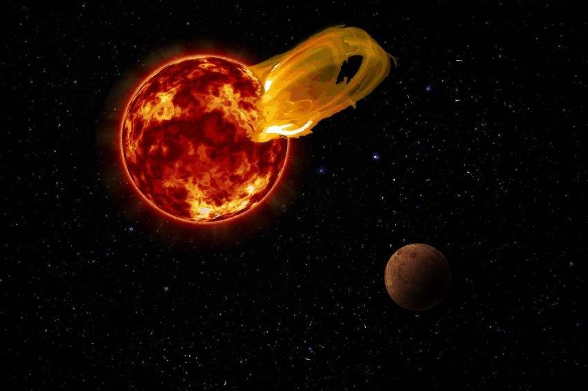 Проксима Центавра запускает одно гигантское извержение за другим: его извержения в 100 раз сильнее, чем извержения Солнца
