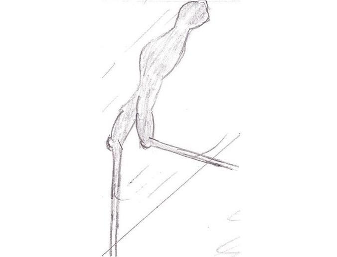 «Ходок из Кармела» - Белый монстр с очень длинными ногами - Паранормальные новости