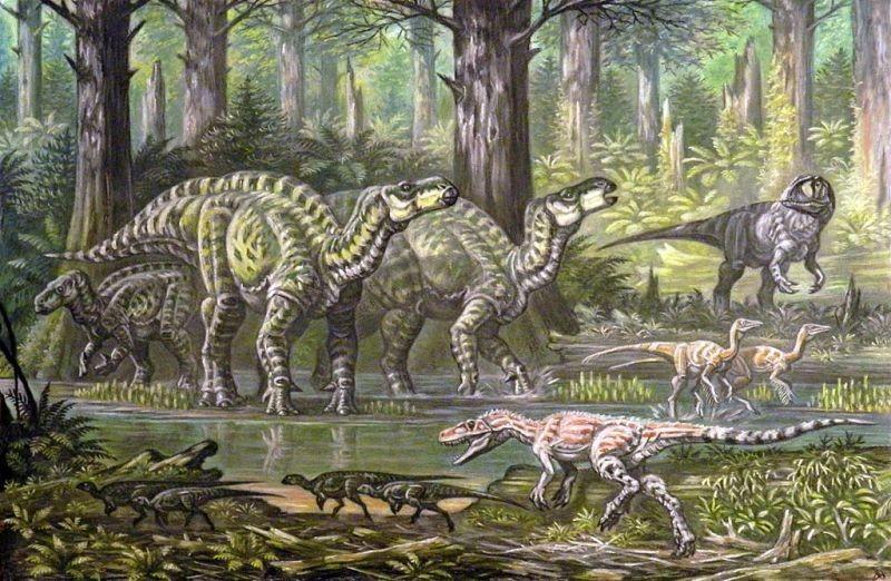 Как менялись представления о динозаврах